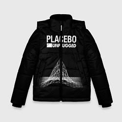 Куртка зимняя для мальчика Placebo: Unplugged цвета 3D-черный — фото 1