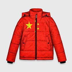 Куртка зимняя для мальчика Китай цвета 3D-черный — фото 1