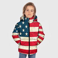 Куртка зимняя для мальчика США цвета 3D-черный — фото 2