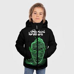 Куртка зимняя для мальчика Chemical Brothers: Acid lines цвета 3D-черный — фото 2
