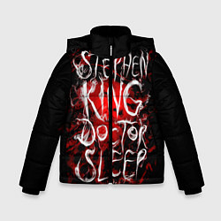 Детская зимняя куртка для мальчика с принтом Doctor Sleep, цвет: 3D-черный, артикул: 10095789806063 — фото 1