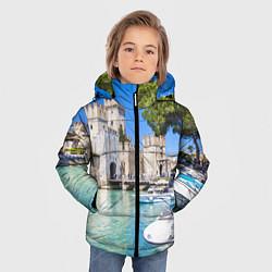 Куртка зимняя для мальчика Италия цвета 3D-черный — фото 2