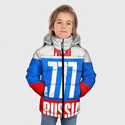 Куртка зимняя для мальчика Russia: from 777 цвета 3D-черный — фото 2
