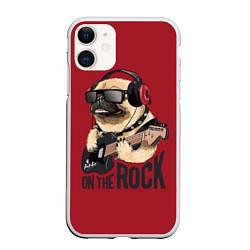 Чехол iPhone 11 матовый On the rock