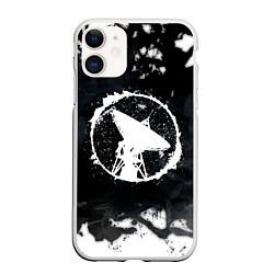 Чехол iPhone 11 матовый ГРОТ цвета 3D-белый — фото 1