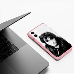 Чехол iPhone 11 матовый Кино: Виктор Цой цвета 3D-баблгам — фото 2