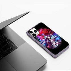 Чехол iPhone 11 Pro матовый No Game No Life Zero цвета 3D-серый — фото 2