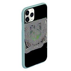 Чехол iPhone 11 Pro матовый The International 2018 цвета 3D-мятный — фото 2