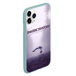 Чехол iPhone 11 Pro матовый Imagine Dragons: Silence цвета 3D-мятный — фото 2