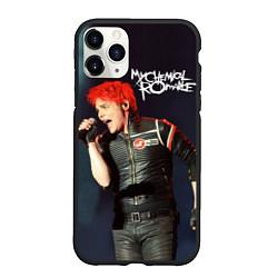 Чехол iPhone 11 Pro матовый Gerard Way цвета 3D-черный — фото 1