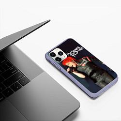 Чехол iPhone 11 Pro матовый Gerard Way цвета 3D-светло-сиреневый — фото 2
