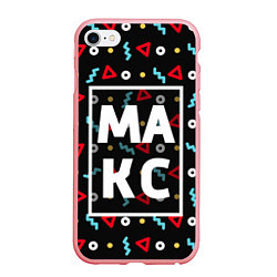 Чехол iPhone 6/6S Plus матовый Макс цвета 3D-баблгам — фото 1