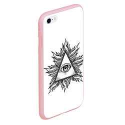 Чехол iPhone 6/6S Plus матовый They watching цвета 3D-баблгам — фото 2