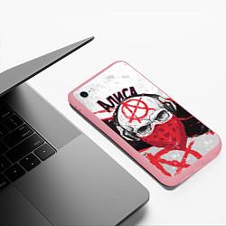 Чехол iPhone 6/6S Plus матовый АлисА: Анархия цвета 3D-баблгам — фото 2