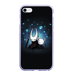 Чехол iPhone 6/6S Plus матовый Hollow Knight цвета 3D-светло-сиреневый — фото 1