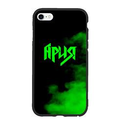 Чехол iPhone 6/6S Plus матовый Ария цвета 3D-черный — фото 1