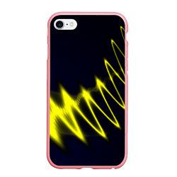 Чехол iPhone 6/6S Plus матовый Молния цвета 3D-баблгам — фото 1