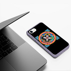 Чехол iPhone 7/8 матовый KISS: Over цвета 3D-серый — фото 2
