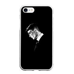 Чехол iPhone 7/8 матовый Peaky Blinders цвета 3D-белый — фото 1