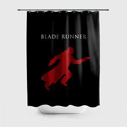 Шторка для душа Blade Runner цвета 3D-принт — фото 1