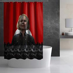 Шторка для душа Wolfenstein: Irene Engel цвета 3D-принт — фото 2