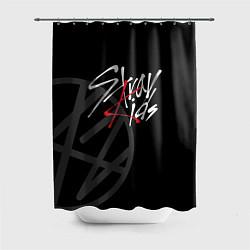 Шторка для душа Stray Kids цвета 3D — фото 1