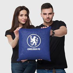 Подушка квадратная Chelsea FC цвета 3D-принт — фото 2