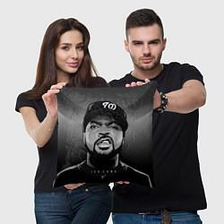 Подушка квадратная Ice Cube: Gangsta цвета 3D-принт — фото 2