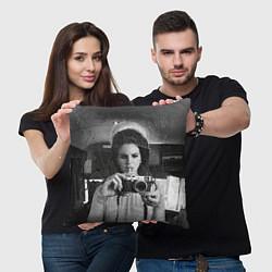 Подушка квадратная Lana Photographer цвета 3D-принт — фото 2