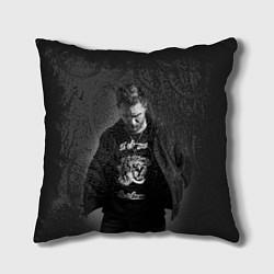 Подушка квадратная Tom Hardy цвета 3D — фото 1
