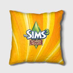 Подушка квадратная The Sims: Roaring Heights цвета 3D — фото 1