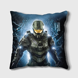 Подушка квадратная Halo: Soldier Rage цвета 3D — фото 1