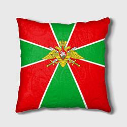 Подушка квадратная Флаг ПВ цвета 3D-принт — фото 1