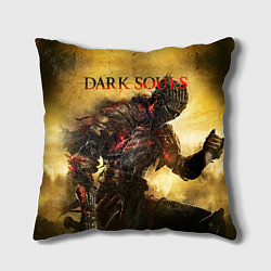 Подушка квадратная Dark Souls: Braveheart цвета 3D — фото 1