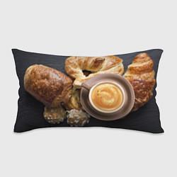 Подушка-антистресс Приятный завтрак цвета 3D — фото 1