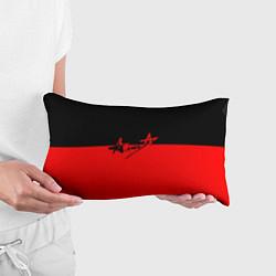 Подушка-антистресс АлисА: Черный & Красный цвета 3D — фото 2