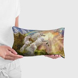 Подушка-антистресс Радужный единорог цвета 3D-принт — фото 2