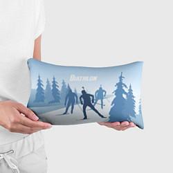 Подушка-антистресс Биатлон цвета 3D — фото 2