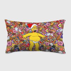 Подушка-антистресс Обжора Гомер цвета 3D-принт — фото 1