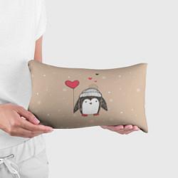Подушка-антистресс Пингвин с шариком цвета 3D — фото 2