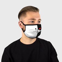 Лицевая защитная маска с принтом Monokuma, цвет: 3D, артикул: 10119716605881 — фото 1