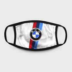 Маска для лица BMW M: White Sport цвета 3D-принт — фото 2
