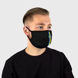 Маска для лица Украина цвета 3D — фото 1