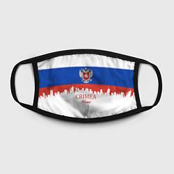 Маска для лица Crimea, Russia цвета 3D-принт — фото 2