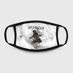 Маска для лица Stone Sour: Rage цвета 3D-принт — фото 2