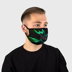 Лицевая защитная маска с принтом Dzhizus, цвет: 3D, артикул: 10201721505881 — фото 1