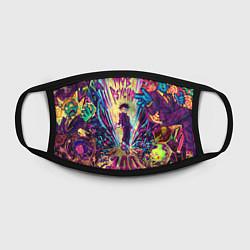 Маска для лица Моб Психо 100 цвета 3D — фото 2