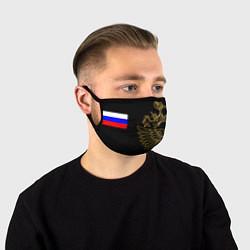 Маска для лица РОССИЯ цвета 3D-принт — фото 1