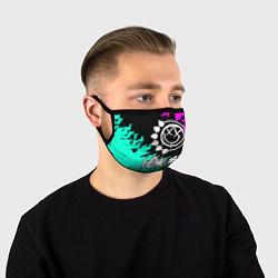 Маска для лица Blink-182 5 цвета 3D-принт — фото 1
