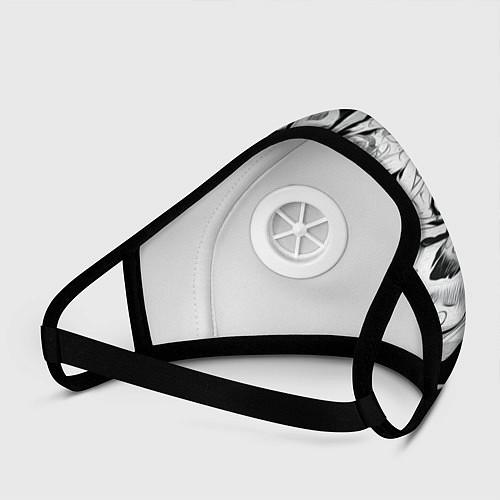 Маска с клапаном АХЕГАО / 3D-Белый – фото 3